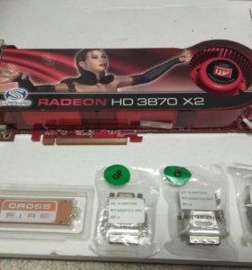Видеокарта ATI Radeon HD 3870 X2