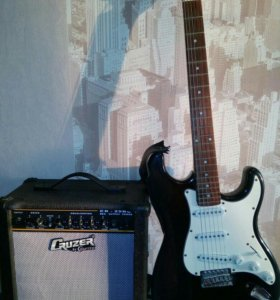Электро гитара Homage+ комбик
