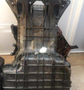 Поддон, большой и малый на 112 двигатель мерседес.