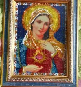 """Икона """"Святое сердце Марии"""""""