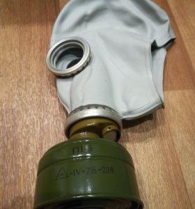 противогаз гп-5 СССР маска фильтр сумка