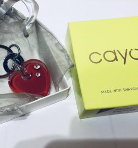 Брелок с кристаллами сваровски cayoo