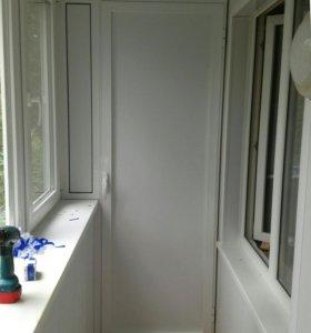 Пластиковые окна балконы лоджии