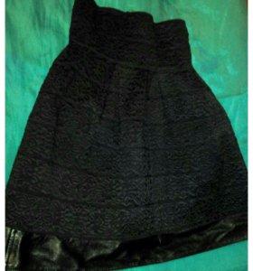 Нарядная юбка-колокол 42-44