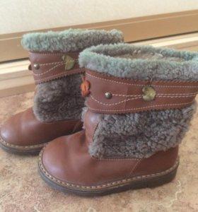 Зимние ботинки 26 размер для мальчика или девочки