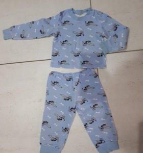 Пижама детская р.86