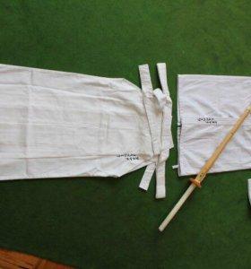 Форма для занятий кендо