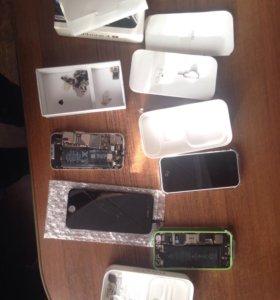iPhone 5с + дисплей от 6
