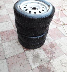 Зимняя резина КАМА R14 ( цена за все )