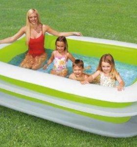 Надувной бассейн. Новый