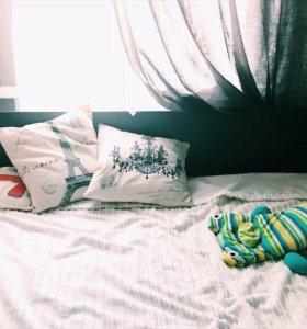 Кровать и матрас в подарок 140*200 м