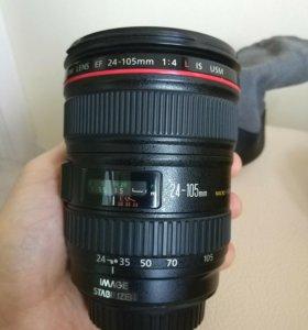 Объектив Canon EF 24-105mm f/4 IS USM как новый
