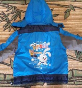 Зимняя куртка/штаны 86