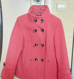 Пальто-трапеция 42 разм, подойдёт для беременных