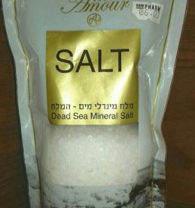 Миниральная грязь и соль мёртвого моря