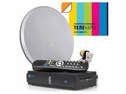 Спутниковая антенна телекарта