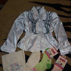 Блузка (одета два раза)