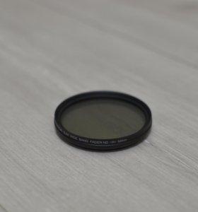 Нейтральный фильтр переменной плотности Fotga 52мм