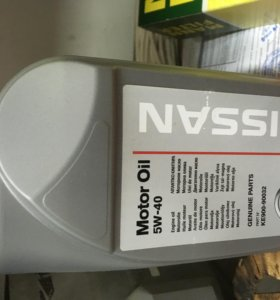 Масло моторное NISSAN 5W-40 (KE900-90032) - 1л