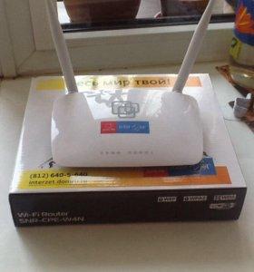 Wi-Fi Router. SNR- CPE-W4N Роутер (новый)