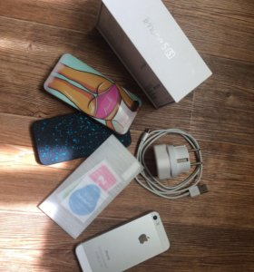 iPhone 5s,Silver, 16GB