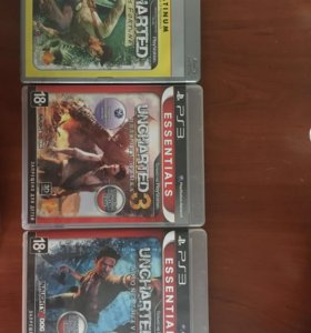 Продам Uncharted (коллекция)