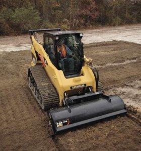 Услуги по вспашке земли под газон мини трактором