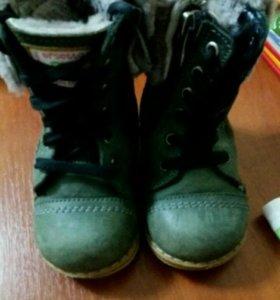 Ботинки зимние, сапоги