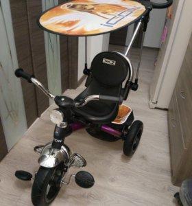 Детский трехколесный велосипед icon
