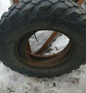Продам шины б/у от автомобиля газ