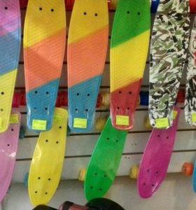Скейтборд -пениборд