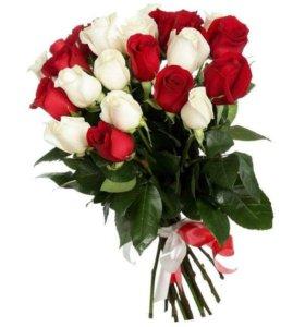 цветы, букеты с доставкой на дом