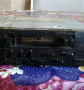 Автомагнитола касетная Supra