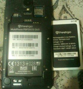 Prestigio MultiPhone PSP3505DUO