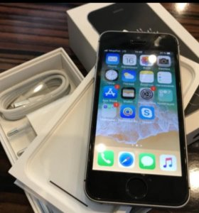 Iphone se 32gb space gray РСТ