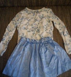Одежда на девочку 8-9 лет