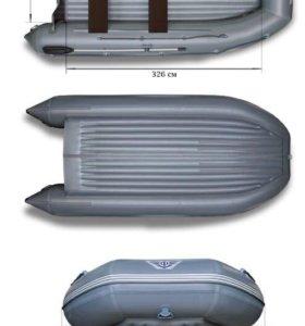 Продам мотор 30 новый и лодка ПВХ флагман 450