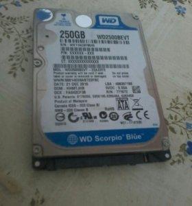 Жесткий диск на 250гб