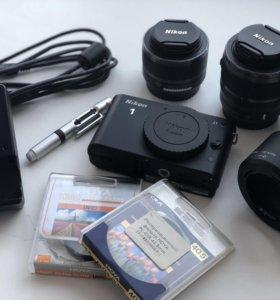 Nikon 1 J1 10-30 + 30-110