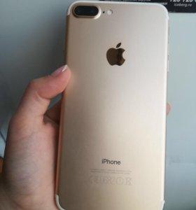 iPhone 7 plus gold