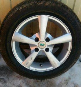 4 колеса с литыми дисками