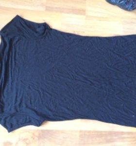 Туника чёрная 44-46 размера.