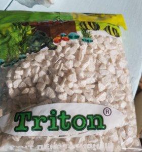 Грунт Triton для аквариума.