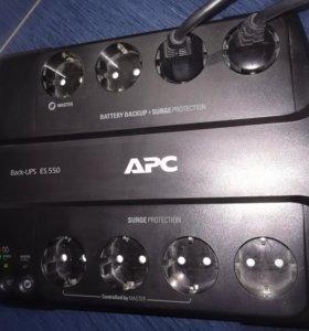 Источник бесперебойного питания APC Back UPS ES550