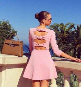 Розовое платье Zara