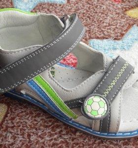 Босоножки на широкую ногу детские для мальчика.