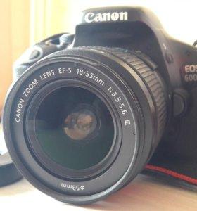 Canon EOS 600D 18-55mm