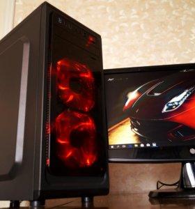 Современный игровой компьютер (i3/8gb/Nvidia 1030)