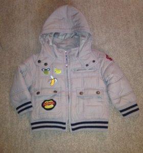 Курточка на мальчика 86-98