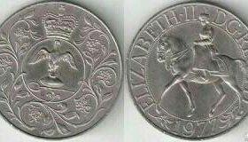 Продам 25 пенсов Великобритания